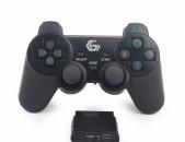Smart lab: Jostik Game Pad Геймпад джойстик խաղային Wireless vibration controller 4in1