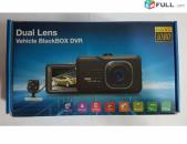 Smart lab: видеорегистратор Full HD 1080P Dual Lens Vehicle Blackbox DVR