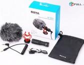 Smart Lab: Professional Microphone BOYA BY-MM1 Նոր, Բարձրորակ mikrafon միկրոֆոն