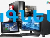 Smart Lab: Kgnem hamakargich, notebook , netbook ev monitor  sarqin ansarq