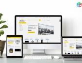 Online Shop (Օնլայն խանութ) Կայքերի Պատրաստում