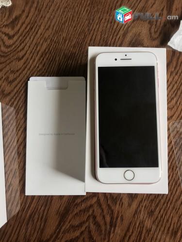Apple iphone 7Rose gold idyalakan original