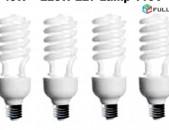 Ekonom Lamp Spiral 45W = 225W 110V 5500K E27 For Photo Video Studio