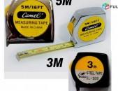 Ruletka, Рулетка 3м и 5м, Metal Measuring Tape 3Metr and 5Metr