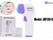 Thermometer ջերմաչափ Jermachap 3 Color LCD Body Non-Contact Certifitcate