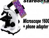 Starboosa 1600x Gitakan Մանրադիտակ Mикроскоп Microscope + Phone adapter