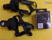 Glxi XM-L T6 Zoom High Power HeadLamp Led Lapter, + 3 Hat AAA Battery, Tupov