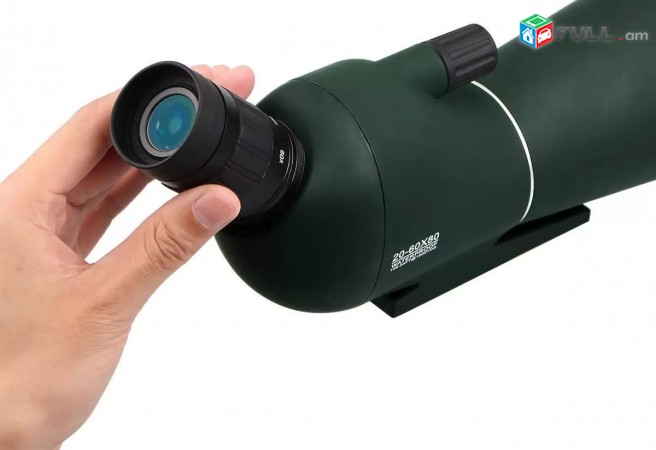 Heraditak Monokulyar Монокуляр Monocular 20-60x80 + Shtativ + Phone Adapter