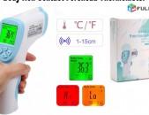 Thermometer Jermachap ջերմաչափ Body Non-Contact Forehead color LCD