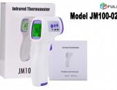 Thermometer Jermachap ջերմաչափ 3 Color LCD Body Non-Contact Certifitcate