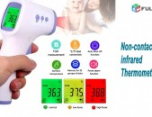 Thermometer Jermachap ջերմաչափ 3 Color LCD Body Non-Contact Forehead