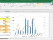 Excel fileri banadzeveri kazmum
