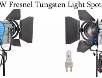 Վարձով * 1000 watts spot light + gel filters-Blue/green/yellow/white (VIDEO)