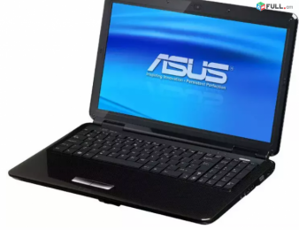ASUS K50 notebook core2duo / 3gb / dwd / wifi / 15.6 / intel vga