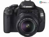 Տեսախցիկ Canon EOS, 600D Օբյեկտիվ- EFS 18-55mm