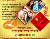 Չինարեն լեզվի դասընթաց