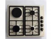 Ներկառուցվող գազօջախ Welux 431 C / White / Նոր / երաշխիք / ապառիկ / առաքում