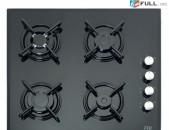 Ներկառուցվող գազօջախ Evii 848 / Cam / Նոր / երաշխիք / փոփոխվող գին / ապառիկ / առաքում