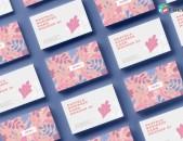 Գրաֆիկ դիզայն - լոգոների պատրաստում Logo design, graphic design