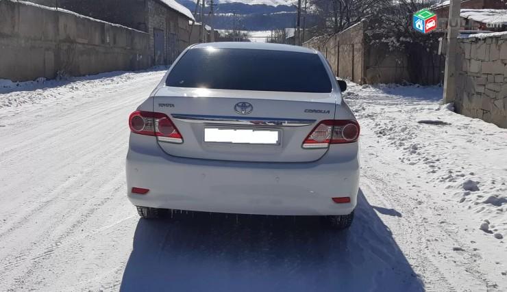 Toyota Corolla, 2012 թ.