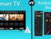 TV BOX ANDROID TV PROSHIVKA