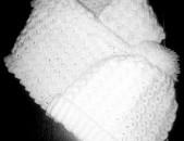 Հայկական արտադրության ՁԵՌԱԳՈՐԾ Գլխարկ և նորաոճ Շարֆիկ` ՀԱՎԱՔԱԾՈՒ. Շաատ մատչելի. Առկա է