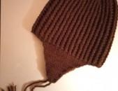 Տաք և փափուկ Ձեռագործ գլխարկ ՄԱՆԿԱԿԱՆ