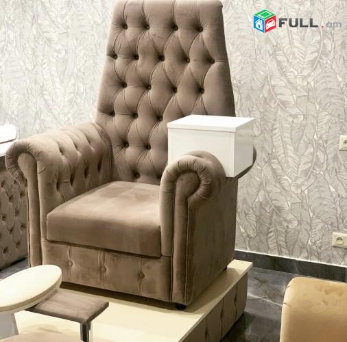 Մատնահարդարման սեղան Աթոռ