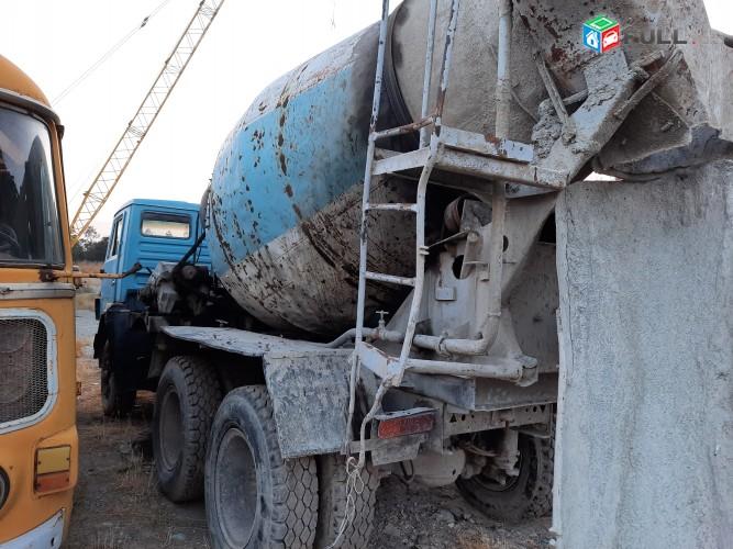 KAMAZ  betonaxarnich mixer betonameshalka