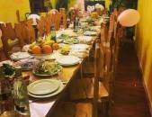 Ռեստորանային համալիր,կաթնաղբյուրում,լճեր,5 ջրավազան,տաղավարներ,փակ կուպեներ