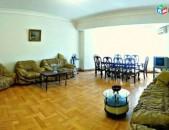 Վարձով 4 սենյականոց բնակարան Դեղատան փողոցում, 150մք