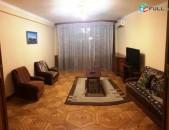 Վարձով 2 (ձևափոխած 3-ի) սենյականոց բնակարան Եր Քոչարի փողոցում, 85քմ