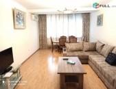 Վարձով 3 սենյականոց բնակարան Սայաթ-Նովայի պողոտայում, 87քմ