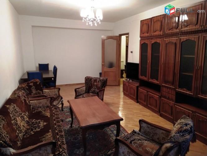 Վարձով 3 սենյականոց բնակարան Եր. Քոչարի փողոցում, 78մք