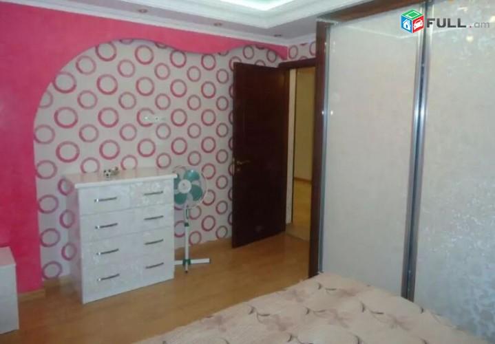 Վարձով 3 սենյականոց բնակարան Թումանյան փողոցում, 82մք