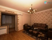 Վարձով 2 (դարձրած 3) սենյականոց բնակարան Սայաթ-Նովայի պողոտայում, 66քմ