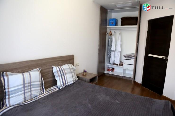 Օրավարձով 2 սենյականոց բնակարան Բուզանդի փողոցում, 45քմ