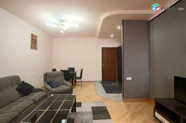 Վարձով 2 սենյականոց բնակարան Ամիրյան փողոցում, 56մք