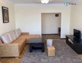 Վարձով 2 (ձևափոխած 3-ի) սենյականոց բնակարան Սայաթ-Նովայի պողոտայում, 70քմ