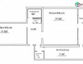 Հ Ա Բ-1թ. Բնակարան 64քմ+ բիզնես տարացքով, 37քմ. էկօ. մաքուր, կամ փոխանակում, սեփ. հետ
