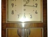 Ժամացույց պատի մեխանիկական, աշխատող անթերի