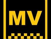 Mv taxi online grancum, taxu grancum, օնլայն գրանցում