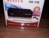 Hi Electronics; DVBT2 tvayin sarq, tv tuner Status HD-130