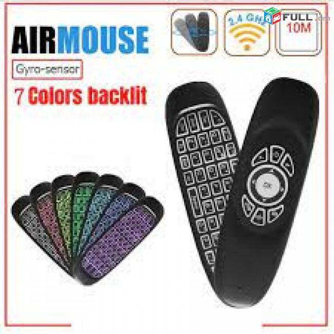 Hi Electronics AIR MOUSE c120 smart vahanak tv pult пульт puylt mouse