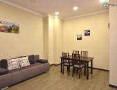 2 սենյականոց բնակարան Չարենցի փողոցում, 55 ք.մ., 2/4 հարկ, կոսմետիկ վերանորոգում, քարե շենք