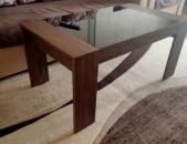 Սուրճի սեղան ապակի նաև փոխանակում այլ ապրանքի հետ 110 x 60 cm