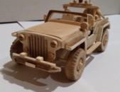 Jeep փայտից պատրաստված