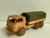 КАМАЗ-4310 փայտից պատրաստված
