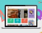 Վեբ կայքի դիզայն - OnePage
