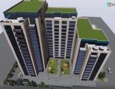 3 սենյականոց բնակարան նորակառույց շենքում Մալխասյան պողոտայում,kod-N209